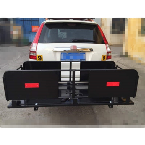 Foldable HITCH CARGO CARRIER MOUNTED BASKET LUGGUAGE RACK
