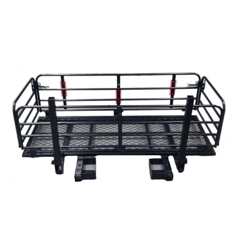 Hitch Cargo Carrier Mounted Basket Luggage Rack
