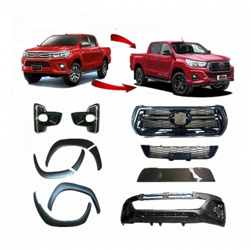 BODY KITS FOR HILUX ROCOO 2018