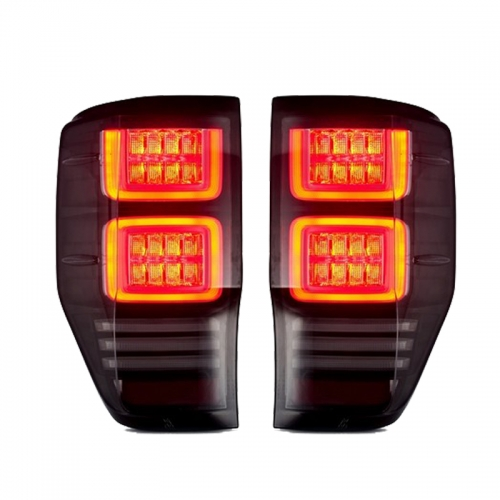 LED tail light rear light with moving tuled tail light for ranger T6 T7