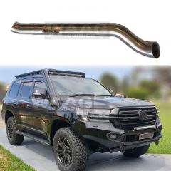 Car accessories off road stainless steel snorkel kit for Land Cruiser LC200